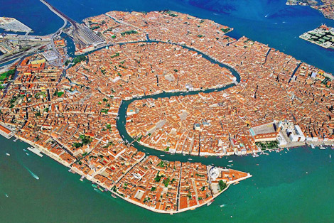 Venice Italy Attractions in Venice Map of Venice Italy